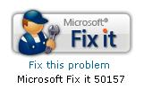 microsoft fix it for me - disappeared internet explorer menu bar