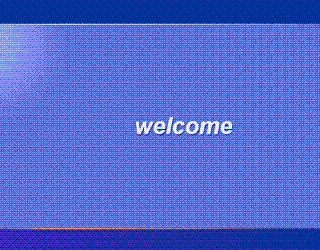 windows xp welcome screen